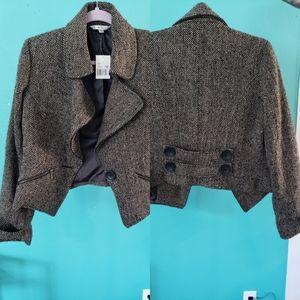 NWT Cabi wool blend jacket size 10